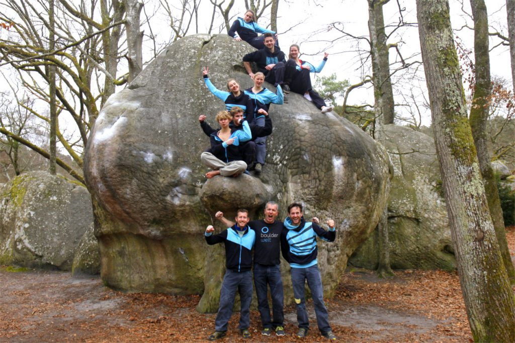 Boulderwelt Athletenteam